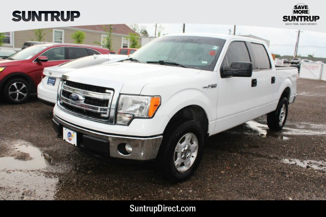 Pre-Owned 2014 Ford F-150 4WD XLT SuperCrew