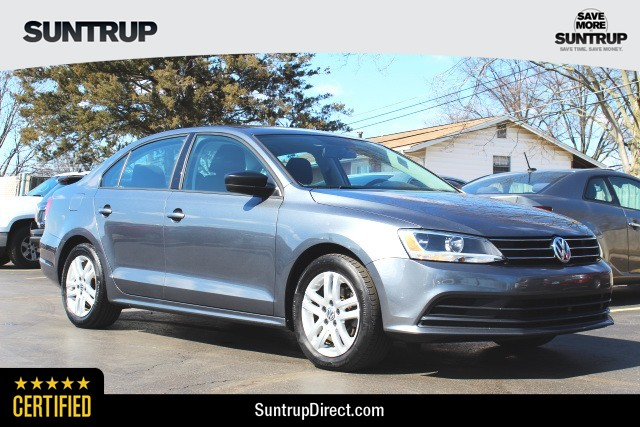 Certified Pre Owned 2017 Volkswagen Jetta Sedan 2 0l S