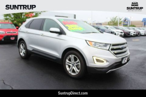 Pre-Owned 2017 Ford Edge 2WD Titanium