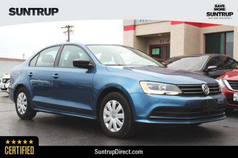 Certified Pre-Owned 2016 Volkswagen Jetta Sedan 1.4T S w/Technology